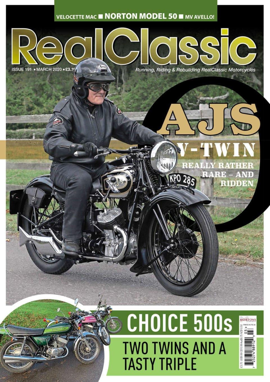 RealClassic magazine cover