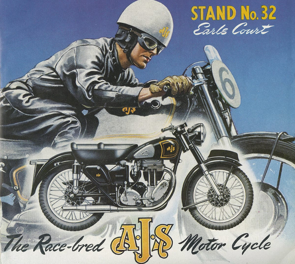 MotorCycling cover November 20th 1952 - AJS - Earls Court