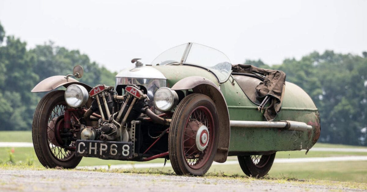 1937 Matchless Morgan bonhams