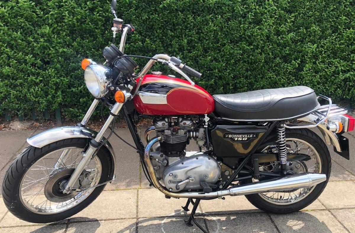 Triumph T140
